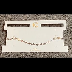 Charming Charlie Silver Delicate Lead Choker New